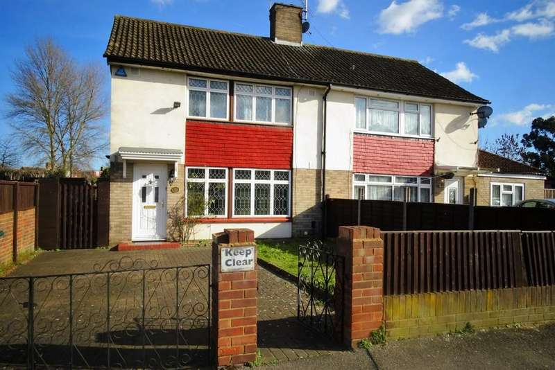 3 Bedrooms Semi Detached House for sale in Convent Road, Ashford, TW15