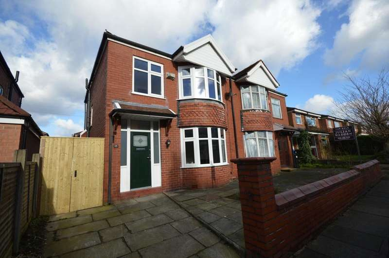 3 Bedrooms Semi Detached House for rent in Grosvenor Road, Heaton Moor