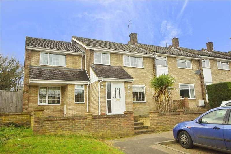 4 Bedrooms End Of Terrace House for sale in Aspfield Row, Hemel Hempstead, Hertfordshire, HP1