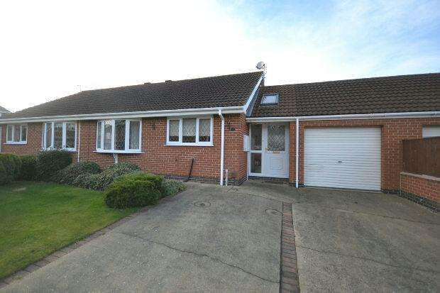 2 Bedrooms Semi Detached Bungalow for sale in Oderin Drive, New Waltham, Grimsby