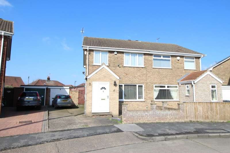 3 Bedrooms Semi Detached House for sale in Antholme Close, Sutton-On-Hull, Hull, HU7