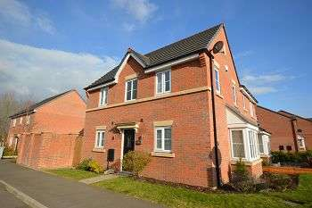 3 Bedrooms Semi Detached House for sale in Heron Way, Sandbach, Cheshire, CW11 3AU