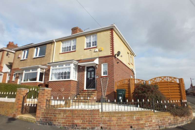 3 Bedrooms Semi Detached House for sale in Balfour Road, Newcastle Upon Tyne, NE15
