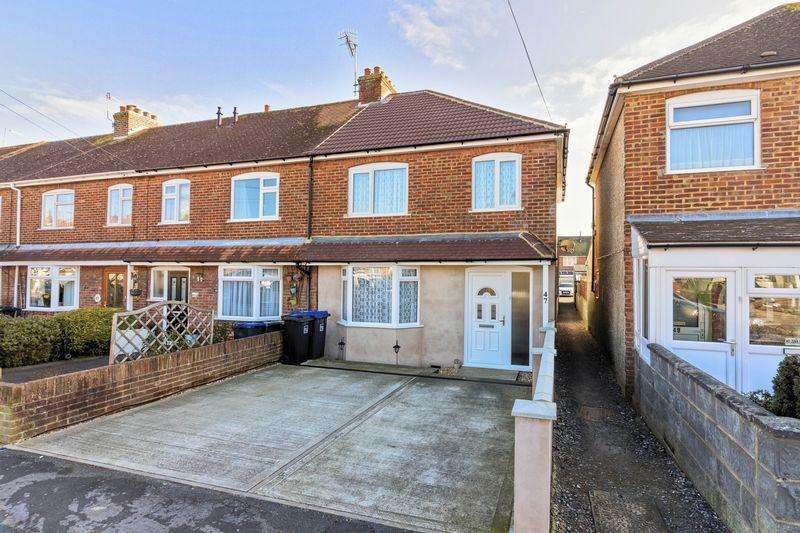 3 Bedrooms End Of Terrace House for sale in Wembley Avenue, Lancing