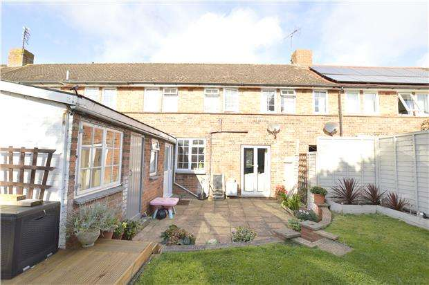 3 Bedrooms Terraced House for sale in Tobyfield Road, Bishops Cleeve, GL52
