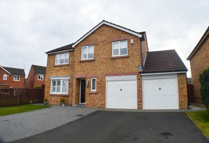 4 Bedrooms Detached House for sale in Lassels Rigg, Prudhoe, NE42