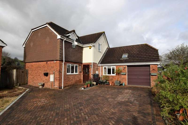 4 Bedrooms House for sale in West Garth Court, Cowley, EX4