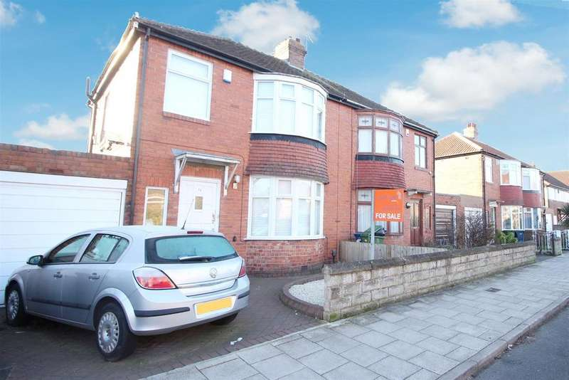 3 Bedrooms Semi Detached House for sale in Dimbula Gardens, Newcastle Upon Tyne