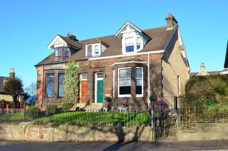 3 Bedrooms Semi Detached House for sale in Merry Street, Abbotsford House, Motherwell, North Lanarkshire, ML1 4BJ