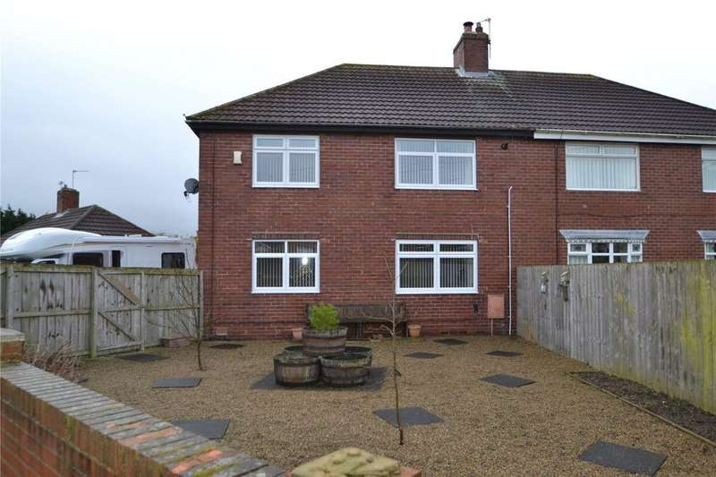 4 Bedrooms Semi Detached House for sale in Trotter Terrace, Shotton Colliery, Co.Durham, DH6