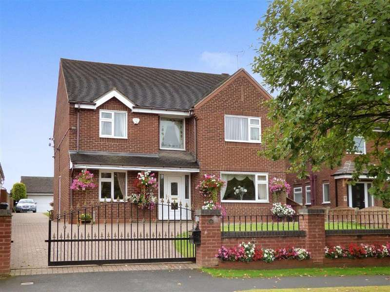 4 Bedrooms Detached House for sale in Wood Lane, Cannock, Staffordshire