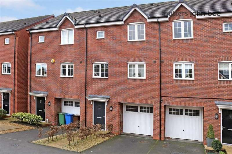 4 Bedrooms Town House for sale in Candler Drive, Stone, Staffordshire
