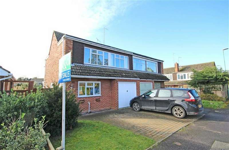 3 Bedrooms Semi Detached House for sale in Sedgley Road, Bishops Cleeve, Cheltenham, GL52
