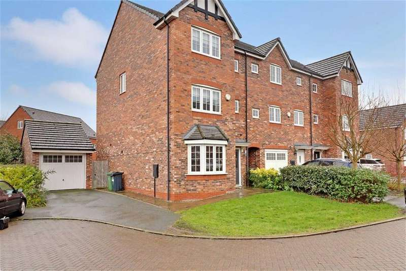 5 Bedrooms Town House for sale in Radcliffe Road, Winsford, Cheshire
