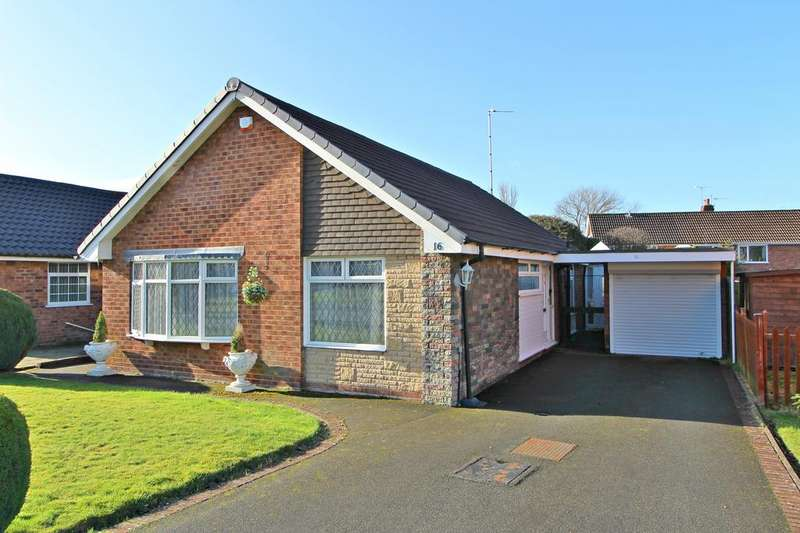 2 Bedrooms Detached Bungalow for sale in POYNTON ( BEECH CRESCENT )