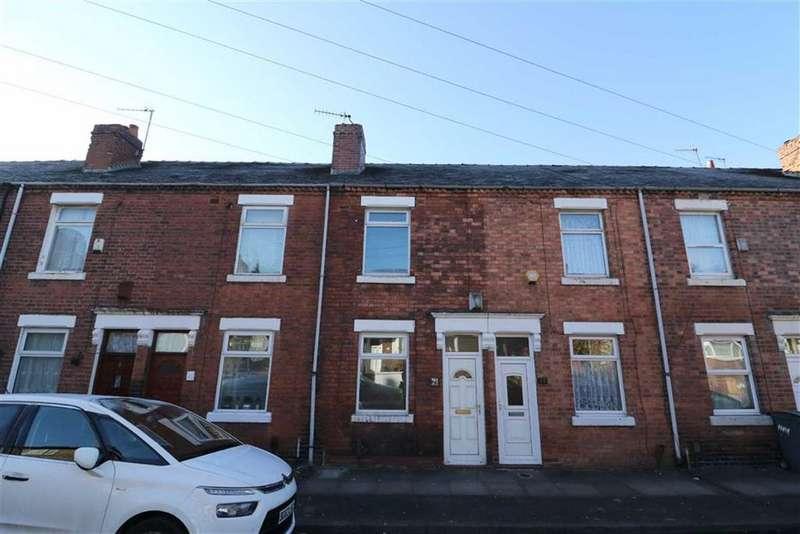 2 Bedrooms Terraced House for sale in Haywood Street, Shelton, Stoke-on-Trent