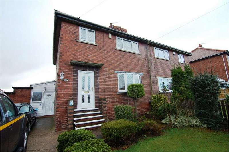3 Bedrooms Semi Detached House for sale in Wilson Street, Wombwell, BARNSLEY, South Yorkshire