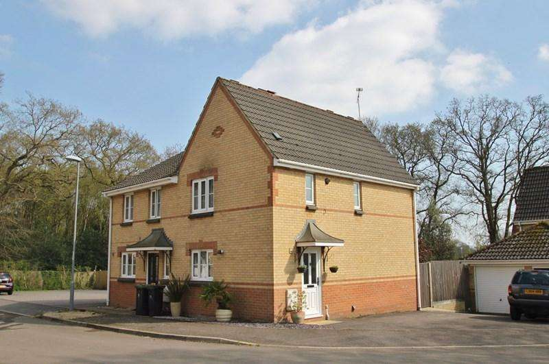 3 Bedrooms Semi Detached House for sale in Chiltern Drive, Verwood