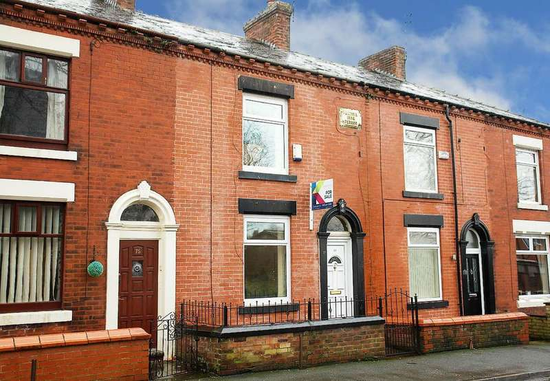 2 Bedrooms Terraced House for sale in Queens Road, Chadderton