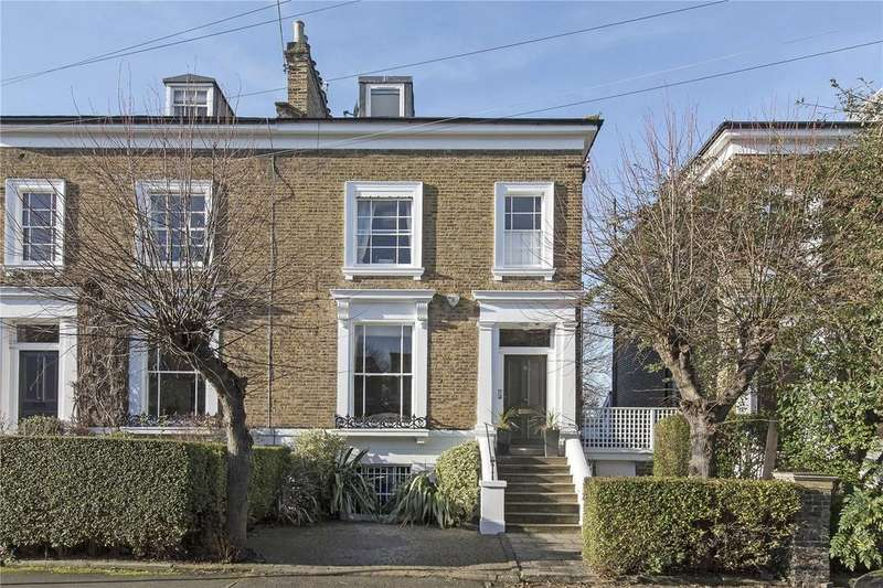 4 Bedrooms Semi Detached House for sale in Northbourne Road, Clapham, London, SW4