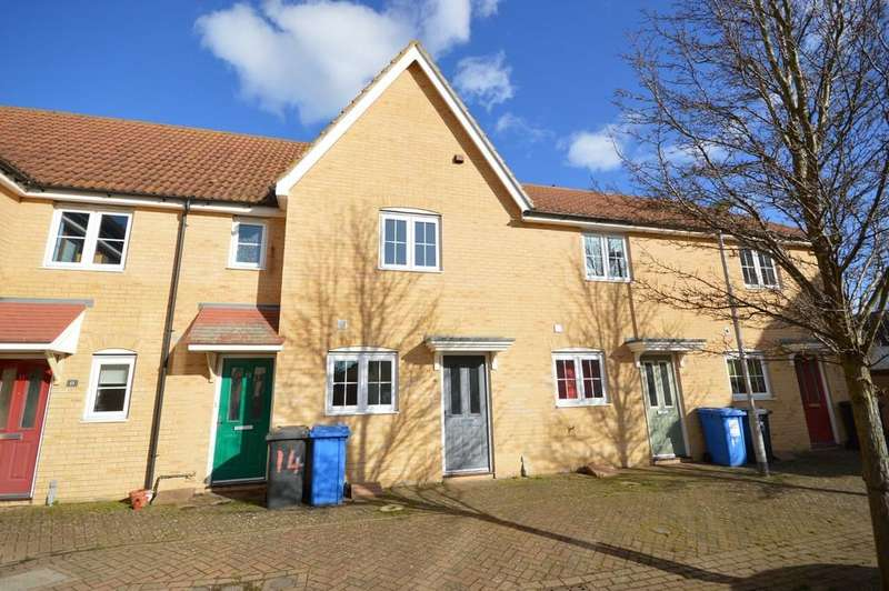 2 Bedrooms Terraced House for sale in Melso Close, Great Cornard, Sudbury