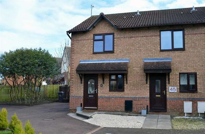 2 Bedrooms Semi Detached House for rent in Marseilles Close, Northampton