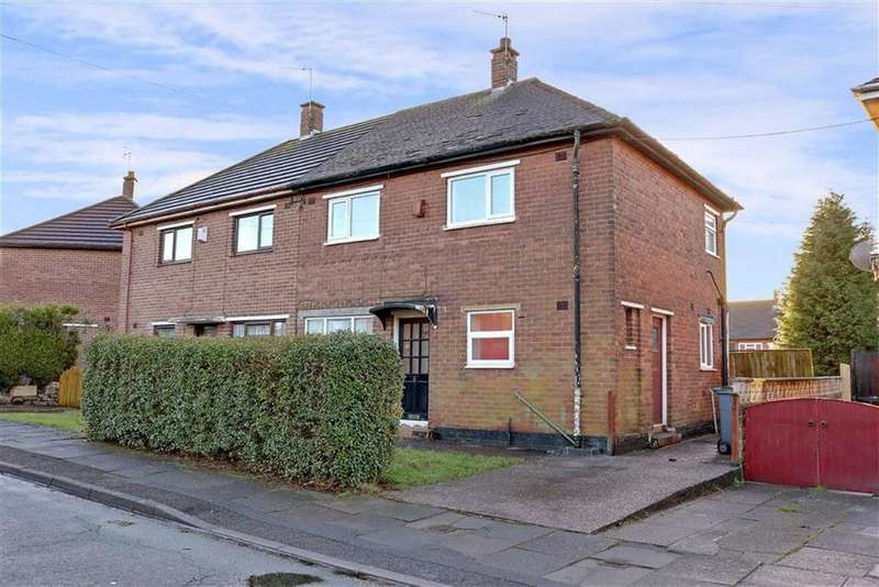 3 Bedrooms Semi Detached House for sale in Jesmond Grove, Blurton, Stoke-on-Trent