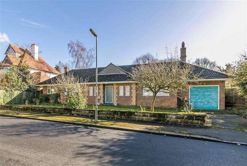 3 Bedrooms Detached Bungalow for sale in Ashdown Road, Epsom, Surrey