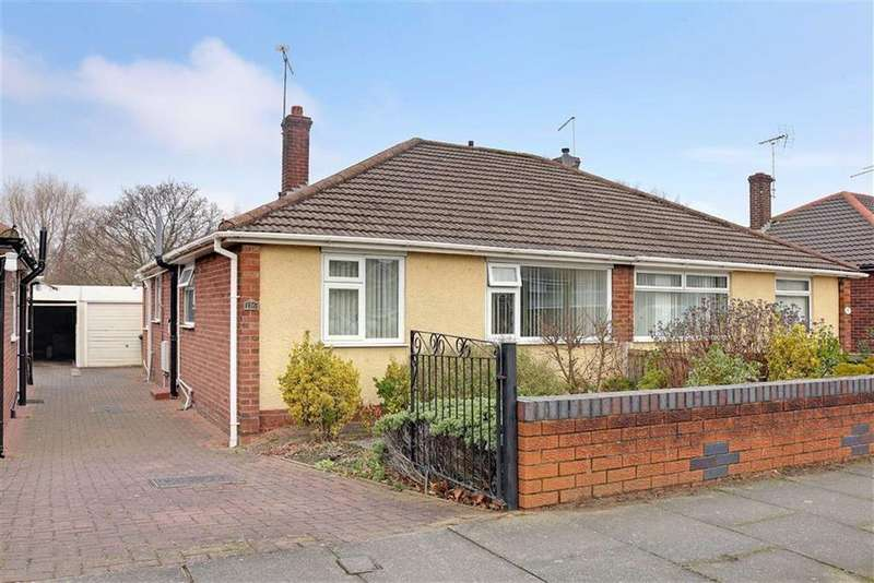 2 Bedrooms Semi Detached Bungalow for sale in Ludlow Avenue, Crewe