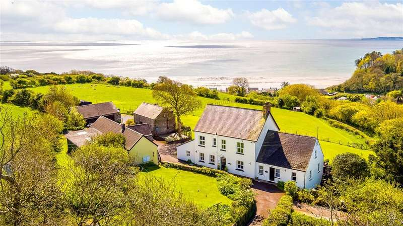 11 Bedrooms Detached House for sale in Furzewood Farm, Amroth, Nr Saundersfoot, Pembrokeshire, SA67