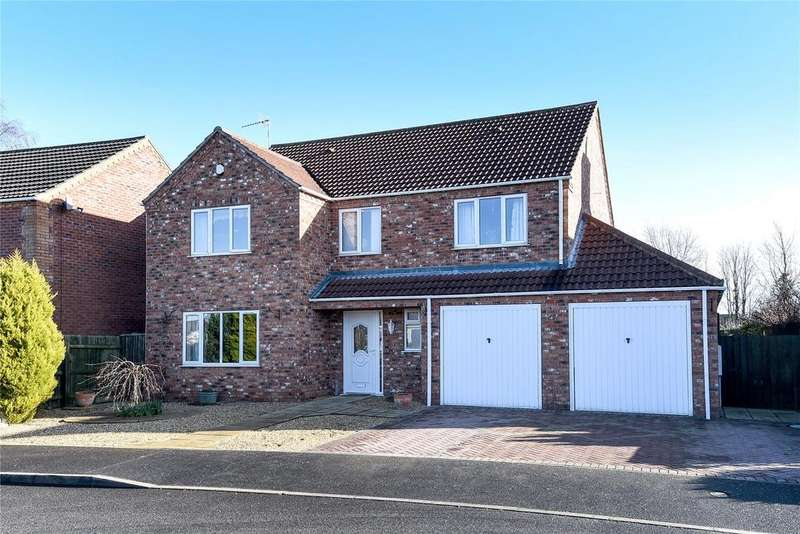4 Bedrooms Detached House for sale in The Sidings, Ruskington, NG34