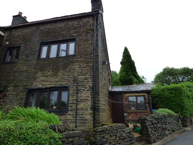 2 Bedrooms End Of Terrace House for rent in Grotton Cottages, Oldham Road, Grotton, Oldham, OL4