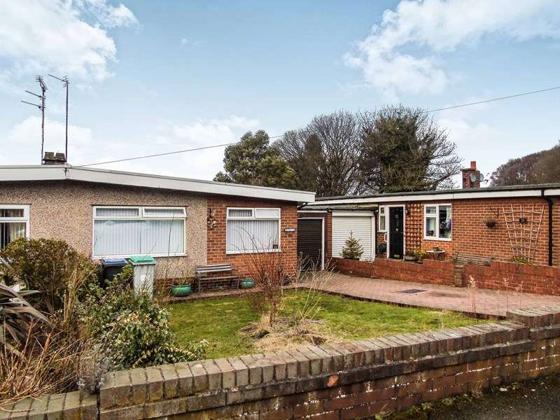 2 Bedrooms Bungalow for sale in Westwood Close, Burnopfield, Newcastle upon Tyne, Durham, NE16 6NQ