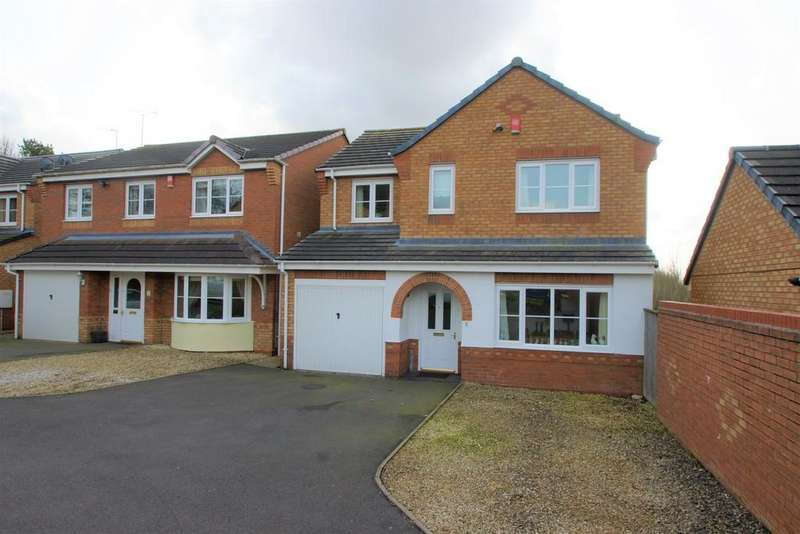 4 Bedrooms Detached House for sale in Vivaldi Drive, Heath Hayes, Cannock