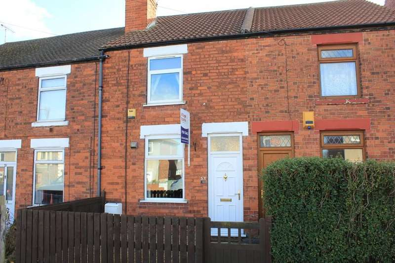 2 Bedrooms Terraced House for sale in 53, Church Street, Creswell