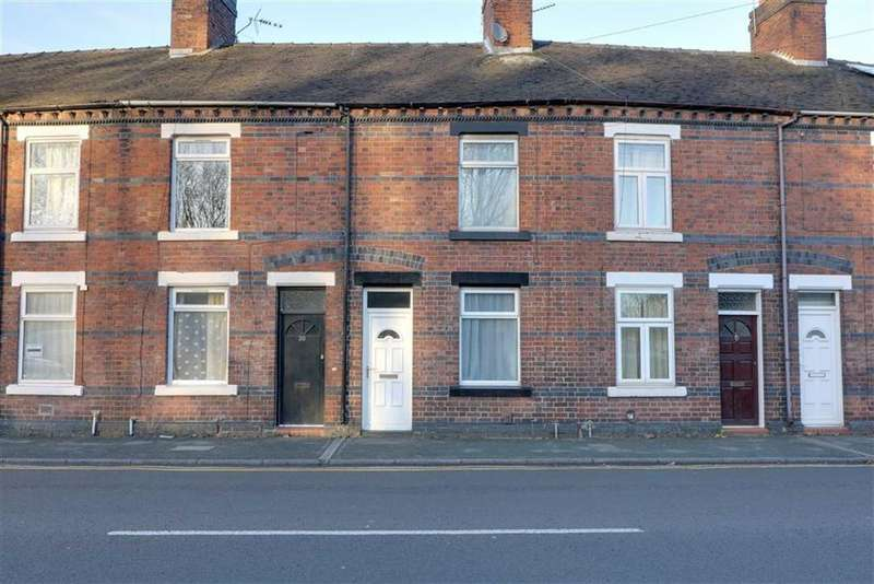 2 Bedrooms Terraced House for sale in Silverdale Road, Newcastle-under-Lyme