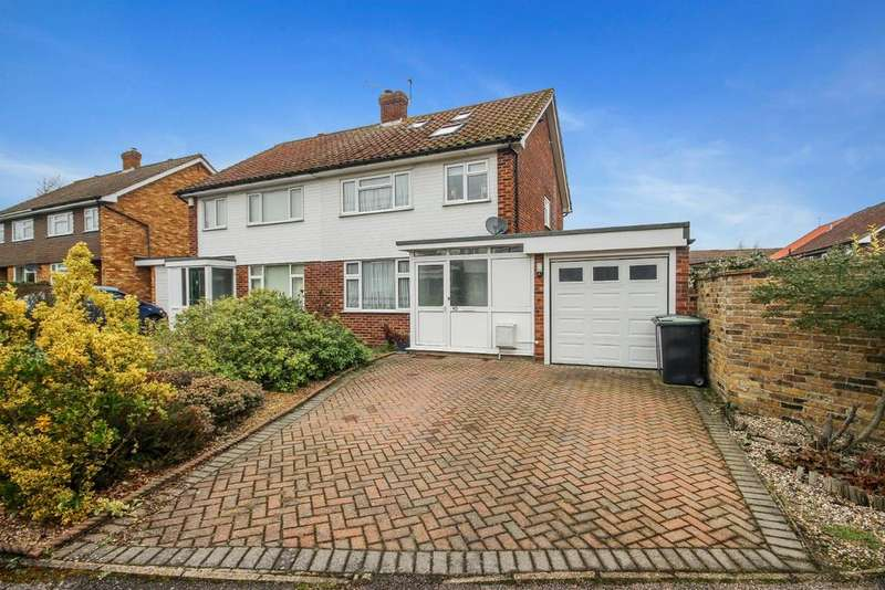 4 Bedrooms Semi Detached House for sale in Harrison Drive, CM16