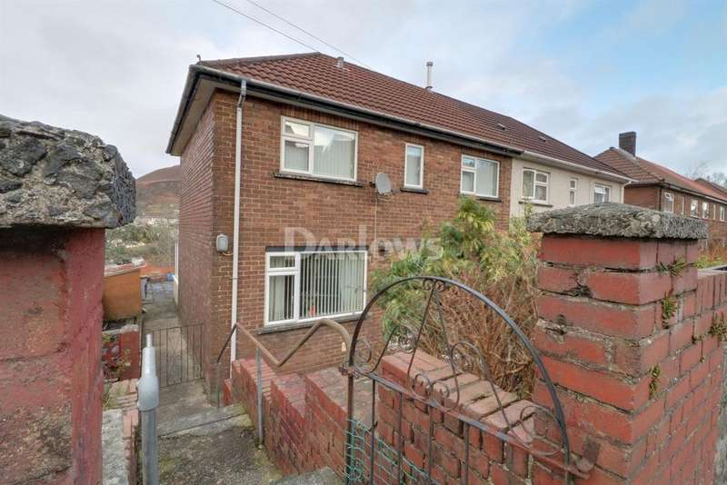 3 Bedrooms Semi Detached House for sale in Broadfield Close, Penygraig