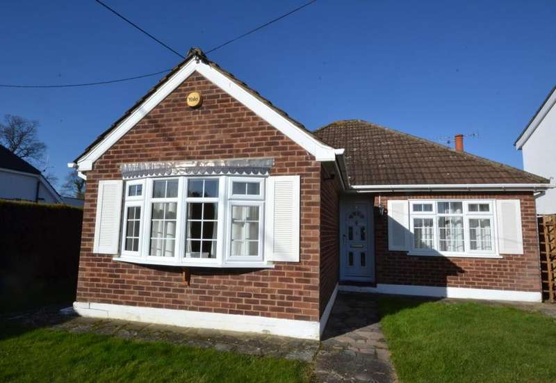 3 Bedrooms Detached Bungalow for sale in Perry Street, Billericay, Essex, CM12