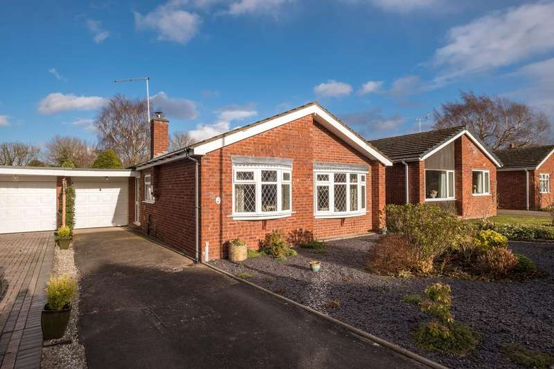 2 Bedrooms Detached Bungalow for sale in Tollgate Drive, Audlem