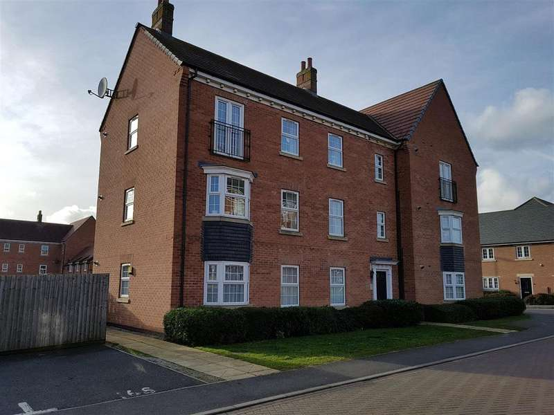 2 Bedrooms Apartment Flat for rent in Thackney Leys, Kibworth Harcourt, Leicester