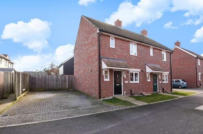 2 Bedrooms Semi Detached House for sale in Bonham Road, Bersted, Bognor Regis, PO21