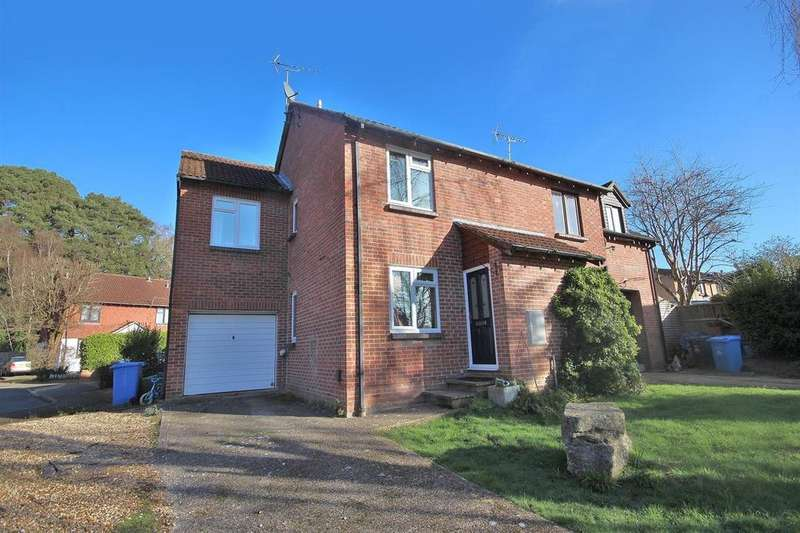 3 Bedrooms Semi Detached House for sale in Larch Close, Creekmoor, Poole