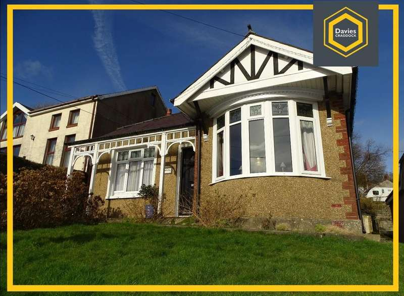2 Bedrooms Detached Bungalow for sale in Heol Y Felin, Pontyberem, Llanelli, SA15
