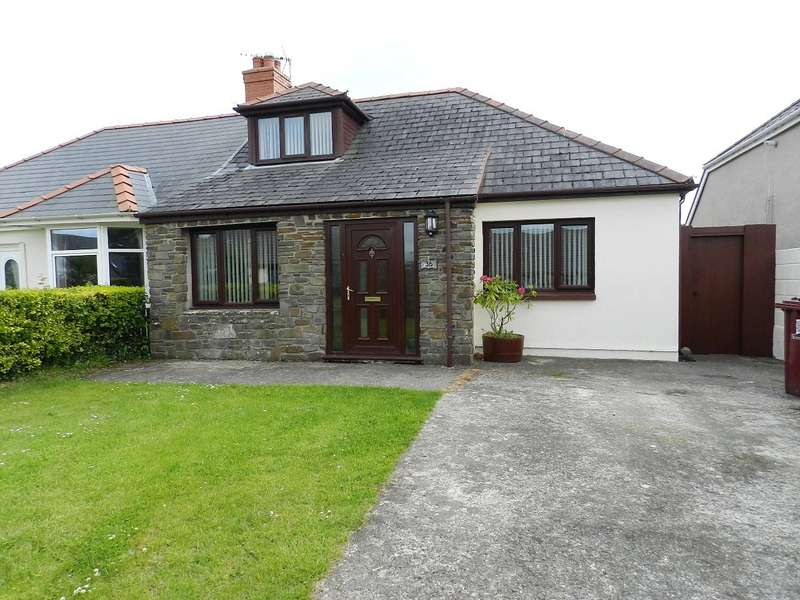 4 Bedrooms Semi Detached Bungalow for sale in Langford Road, Johnston, Haverfordwest