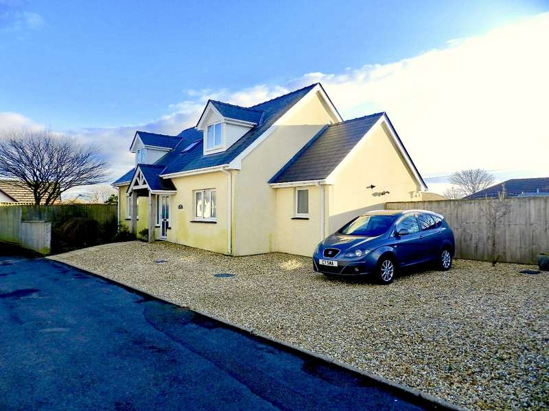 3 Bedrooms Detached Bungalow for sale in Dan-Y-Coed, Cardigan Road, Haverfordwest, Pembrokeshire