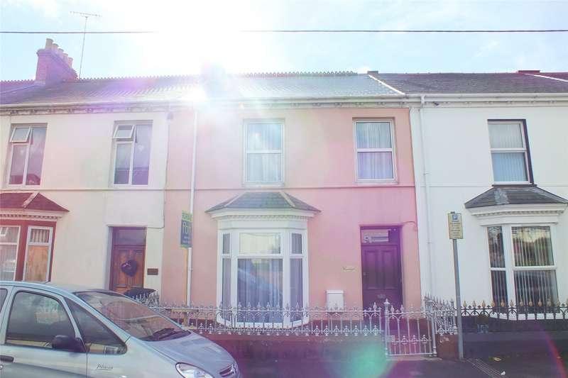 3 Bedrooms Terraced House for sale in Woodbine Terrace, Pembroke, Pembrokeshire