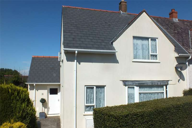 3 Bedrooms Semi Detached House for sale in Knowling Mead, Tenby, Pembrokeshire