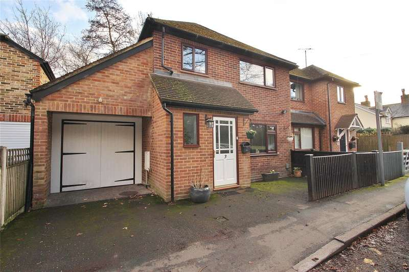 3 Bedrooms Semi Detached House for sale in Horsell Moor, Horsell, Surrey, GU21