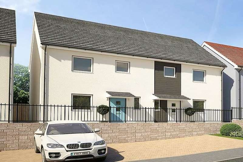 3 Bedrooms Semi Detached House for sale in Poets Corner Chaucer Way, Manadon, Plymouth, PL5